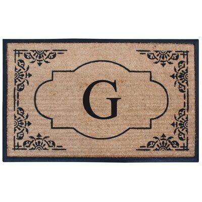 Albertina Doormat Letter: G
