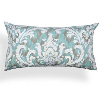 Abrial Light Damask 100% Cotton Lumbar Pillow