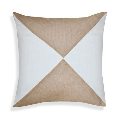 Violet Geometric Throw Pillow