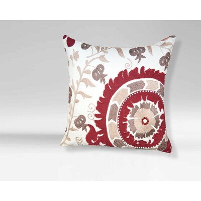 Anais 100% Cotton Throw Pillow