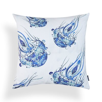 Kennedy Fish Tie-Dye Throw Pillow