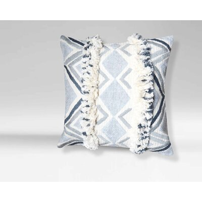 Clairmont Moroccan Geometric 100% Cotton Throw Pillow