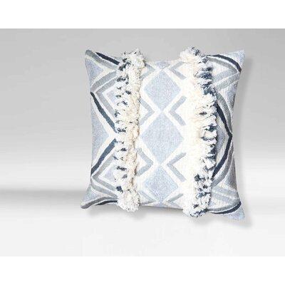 Clairmont Moroccan Geometric 100% Cotton Throw Pillow