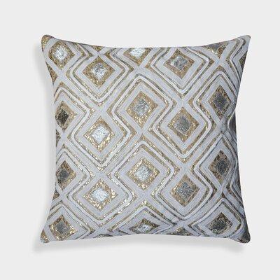 Isaiah Geometric 100% Cotton Velvet Throw Pillow