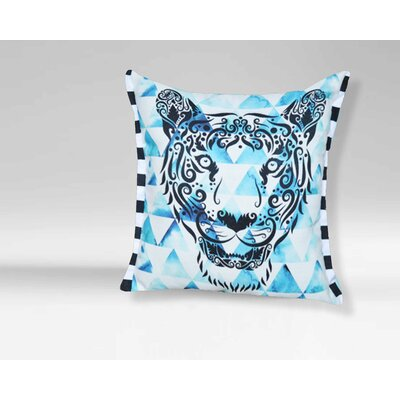 Clarksburg Tiger Print Throw Pillow