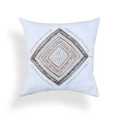 Clarice Sequin 100% Cotton Throw Pillow