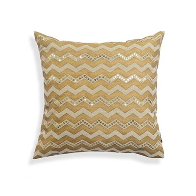 Blandford Print Chevron 100% Cotton Throw Pillow