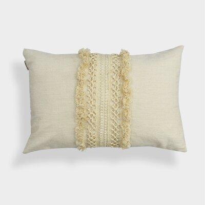 Pierview Oblong 100% Cotton Lumbar Pillow