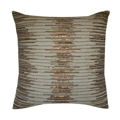 Clare Embroidered 100% Cotton Throw Pillow