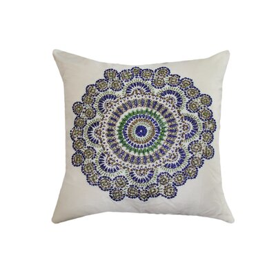 Ethel Bead-work Throw Pillow