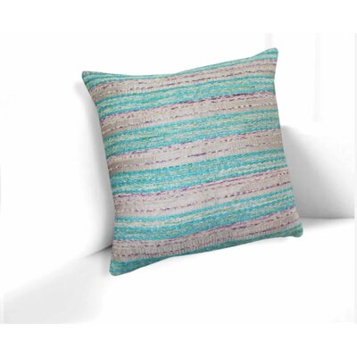 Charlemont Embroidered 100% Cotton Throw Pillow