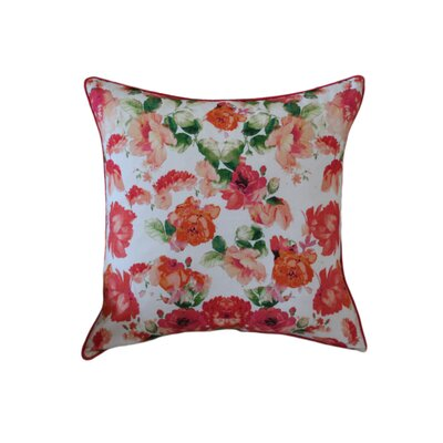 Mandragore Floral Cotton Throw Pillow