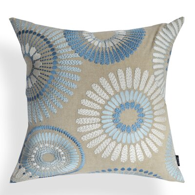 Talia Cotton Throw Pillow Color: White