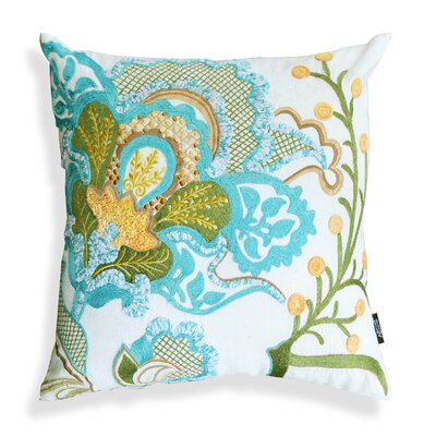 Knuth Botanical 100% Cotton Throw Pillow