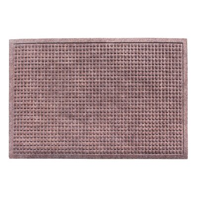 Eco-Poly Indoor/Outdoor Doormat Color: Classic Brown