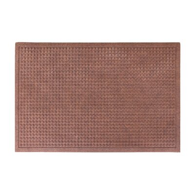 Eco-Poly Indoor/Outdoor Doormat Color: Dark Brown