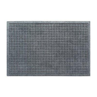 Eco-Poly Indoor/Outdoor Doormat Color: Charcoal Gray