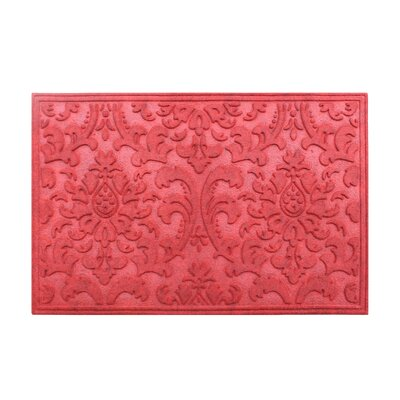 Albertina Eco-Poly Indoor/Outdoor Doormat Color: Red