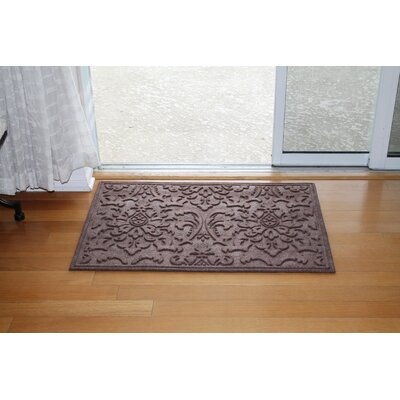 Albertina Eco-Poly Indoor/Outdoor Doormat Color: Classic Brown