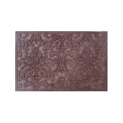 Albertina Eco-Poly Indoor/Outdoor Doormat Color: Dark Brown