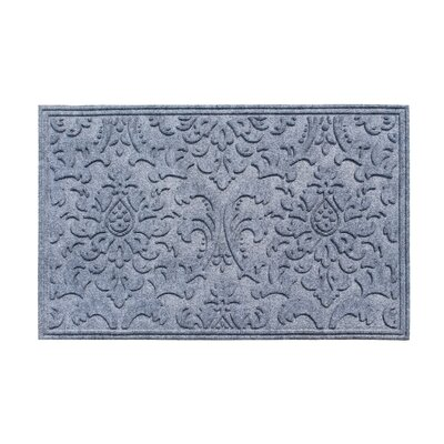 Albertina Eco-Poly Indoor/Outdoor Doormat Color: Medium Gray