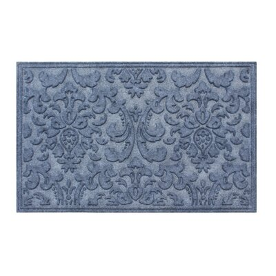 Albertina Eco-Poly Indoor/Outdoor Doormat Color: Dark Gray