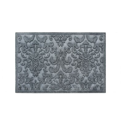 Albertina Eco-Poly Indoor/Outdoor Doormat Color: Charcoal Gray
