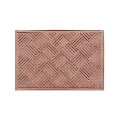 Dionysius Eco-Poly Indoor/Outdoor Doormat Color: Light Brown
