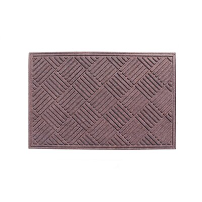 Dionysius Eco-Poly Indoor/Outdoor Doormat Color: Classic Brown