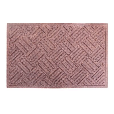 Dionysius Eco-Poly Indoor/Outdoor Doormat Color: Dark Brown