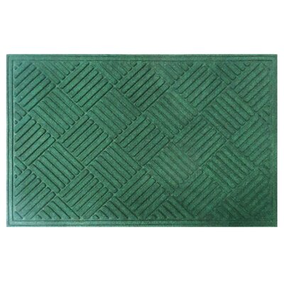 Dionysius Eco-Poly Indoor/Outdoor Doormat Color: Green