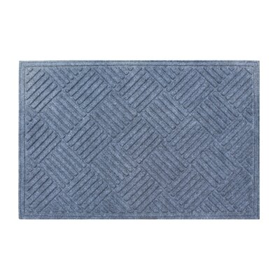 Dionysius Eco-Poly Indoor/Outdoor Doormat Color: Dark Gray