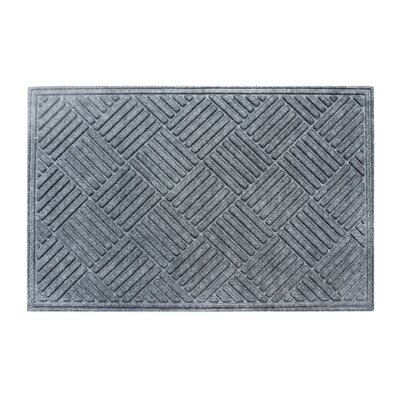Dionysius Eco-Poly Indoor/Outdoor Doormat Color: Charcoal Gray