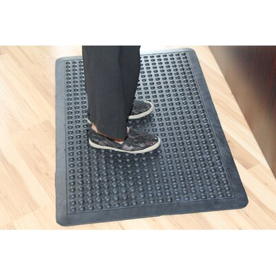 Glossy Bubbles Top Anti-Fatigue Eco-Poly Indoor/Outdoor Doormat Mat Size: Rectangle 36 x 48