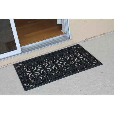 Bradford Rubber Paisley Beautifully Hand Finished Elegant Doormat