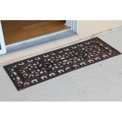 Paxton Rubber Iron Elegant Large Doormat