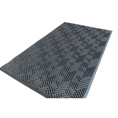 Maze Design Natural Rubber Utility Mat