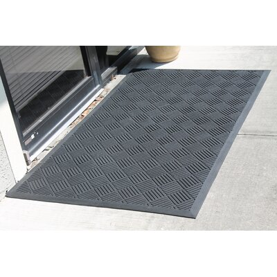 Criss Cross Design Natural Rubber Utility Mat