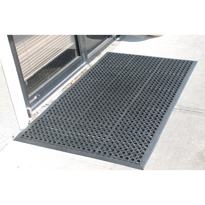 Octagonal Holes 100% Rubber Anti Fatigue Utility Mat