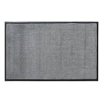 Solid Rub-Poly Multi Utility Indoor/Outdoor Utility Mat Mat Size: Rectangle 3 x 5, Color: Gray