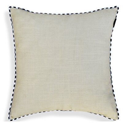 Crader Handcrafted 100% Cotton Throw Pillow Color: Gray