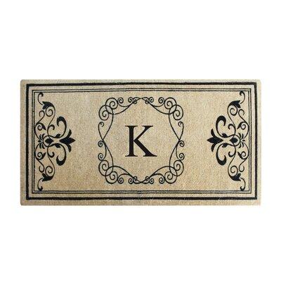 Conradine Doormat Letter: K