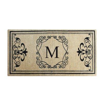 Conradine Doormat Letter: M