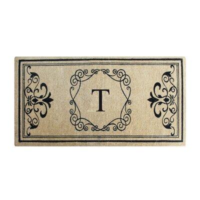 Conradine Doormat Letter: T