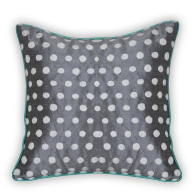 Testerman Dots Embroidered Throw Pillow