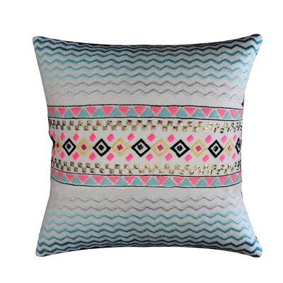 Aime 100% Cotton Throw Pillow