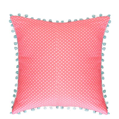 Kace 100% Cotton Throw Pillow