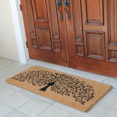 Conradine Hand Crafted Tree of Life Doormat