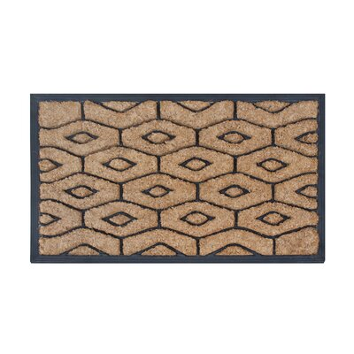 Honeycomb Brush Doormat