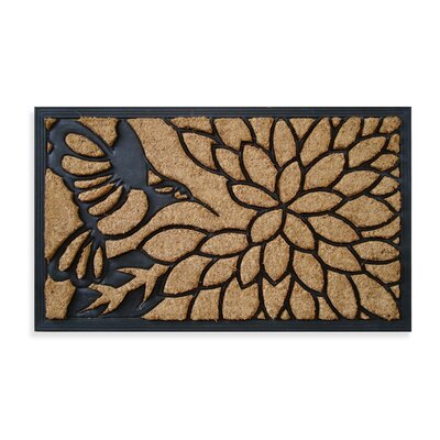 Brush Humming Bird Doormat